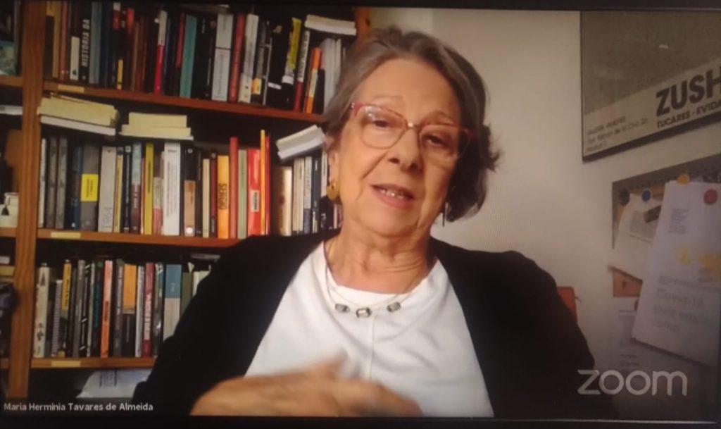 Maria Herminia Tavares de Almeira - debate Cebrap
